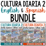 Cultura Diaria 2 BUNDLE (English & Spanish)
