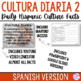 Cultura Diaria 2 - SPANISH Version