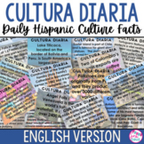 Cultura Diaria - Daily Hispanic Culture Facts - ENGLISH Version
