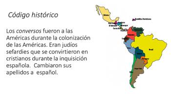 Cultura: Raíces judías en la comunidad hispana