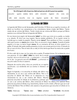 "Cultural Activities: El Silbón to practice present tense forms of ""ir"""