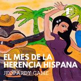 Hispanic Heritage Month Jeopardy - El mes de la herencia + DIGITAL