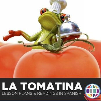 La Tomatina readings in Spanish and #authres video activities