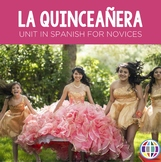 Cultural Activities: La quinceañera embedded reading plus ser vs. estar