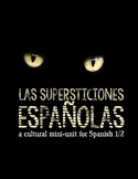 Cultural Activities: Spanish superstitions