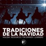 Tradiciones de la Navidad Cultural Activities for Spanish