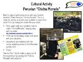 "Cultural Activity for Spanish Students! Peruvian ""Chicha Morada"""