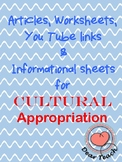 Cultural Appropriation: Author's Viewpoint