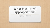 Cultural Appropriation: Beginning a Discussion