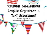 Cultural Celebrations Graphic Organizer & Text Assessment (Answer Key included)