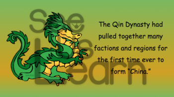 Cultural Characteristics in Qin Dynasty China Pack