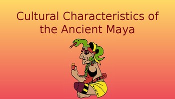 Cultural Characteristics of the Ancient Maya Pack