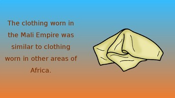Cultural Characteristics of the Mali Empire Pack