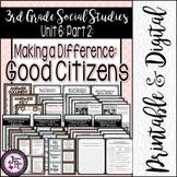 Cultural Characteristics of Communities: 3rd Grade TRS Social Studies Unit 5