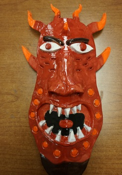 Cultural Clay Masks