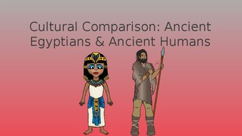 Cultural Comparison-Egyptians & Ancient Humans Pack