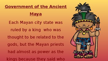 Cultural Comparisons - Ancient Egyptian and Ancient Mayan Pack