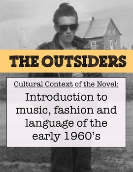 """The music, fashion & slang of """"The Outsiders"""" - Station activity"""