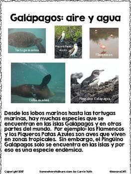 Cultural Corner: Galapagos Islands Reading