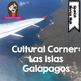Cultural Corner: Galapagos Islands Reading