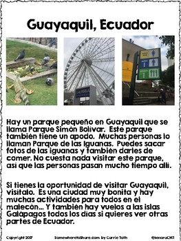 Cultural Corner: Guayaquil, Ecuador