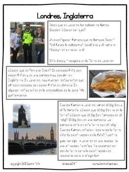 Cultural Corner: Londres, Inglaterra