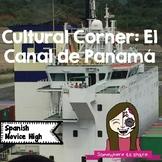 Cultural Corner: Panama Canal Reading