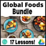 International Foods Activity Bundle: Foods Around the World