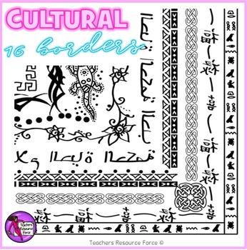 Cultural Borders clipart