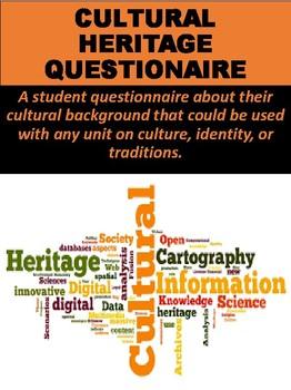 Cultural Heritage Questionnaire