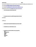 Cultural Heroes Worksheet