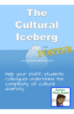 Cultural Iceberg POSTER for classroom, staff room (PYP, MYP, TOK)