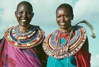 Cultural Lesson on Maasai life and art.