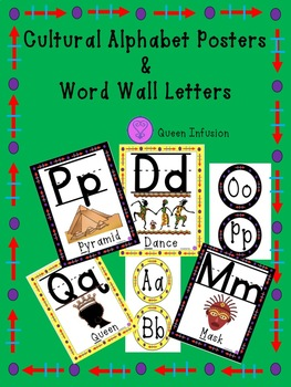 Letter Posters & Word Wall Letters
