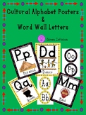 Cultural Letter Posters & Word Wall Letters