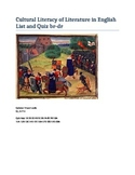 Cultural Literacy of Literature in English Br-Dr