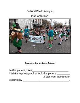 Cultural Photo Analysis- Irish- American