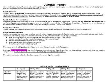 Cultural Project