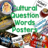 Interrogative Spanish Question Words Posters TWO SETS of posters in one resource