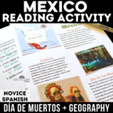 Cultural Reading: Mexico - Geography & Day of the Dead (Dí