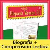 Cultural Reading: Notable Hispanic Women II