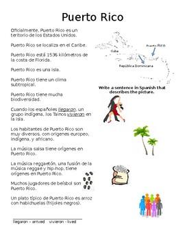 Cultural Reading - Puerto Rico