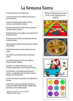 Cultural Reading - Semana Santa