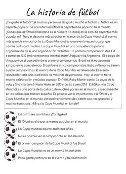 Cultural Reading - el Fútbol