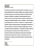 Cultural Reading-el Mariachi