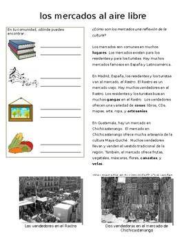 Cultural Reading-los mercados