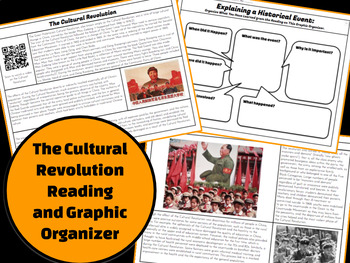 Cultural Revolution: Explain a Historical Event Reading & Graphic Organizer