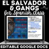 Cultural Stations: El Salvador & gangs