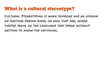 Cultural Stereotypes in Disney Films