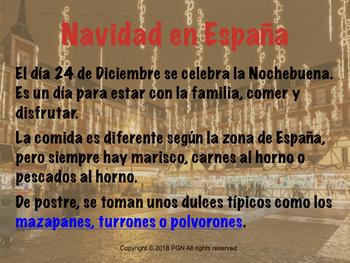 Cultural activities: La navidad - Christmas in Spain BUNDLE (ENG + ESP versions)